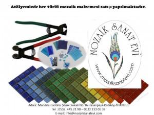 Mozaik Malzemeler