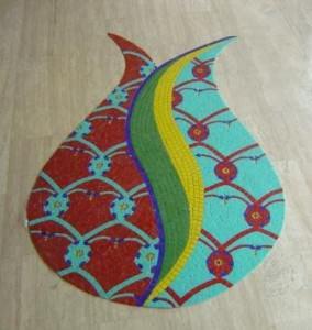 zemin mozaiği