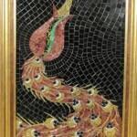 cam mozaik tasarım