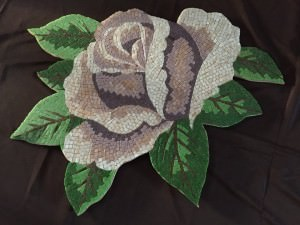 Rose, Mozaik pembe gül