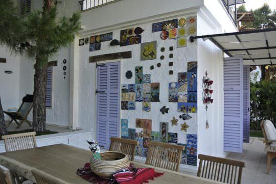 mozaik dekorasyon