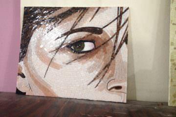 mozaik portre
