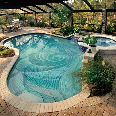havuz mozaikleri